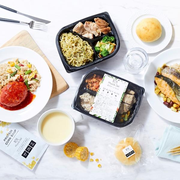 筋トレ効果を高める食事を自宅で楽しめる!有名アスリートも愛用するボディメイクフード宅配サービス『Muscle Deli (マッスルデリ)』