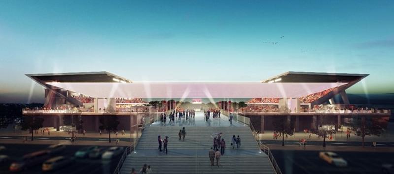 コロナでどうなるサッカー新スタジアム