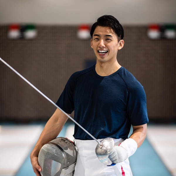 """「大事なのは学ぶ姿勢をやめないこと」、フェンシング日本代表 徳南 堅太選手が考える""""これからのアスリート像""""とは"""