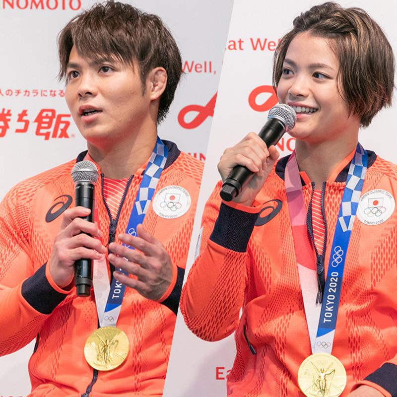 阿部一二三選手・詩選手の強さの源 味の素がサポートするオリンピックアスリートの食